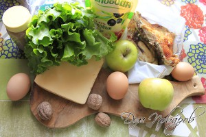 Подготовить все продукты для салата