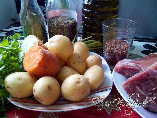 Продукты для картофельного супа