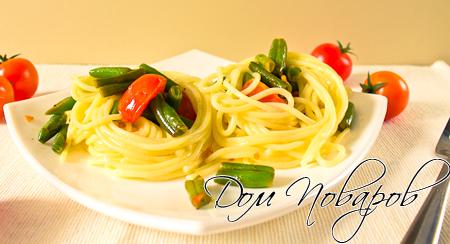 Семейство длинных макарон: фетучини, спагетти и другие