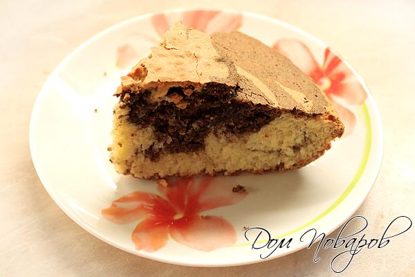 Пирог «Зебра» - готов