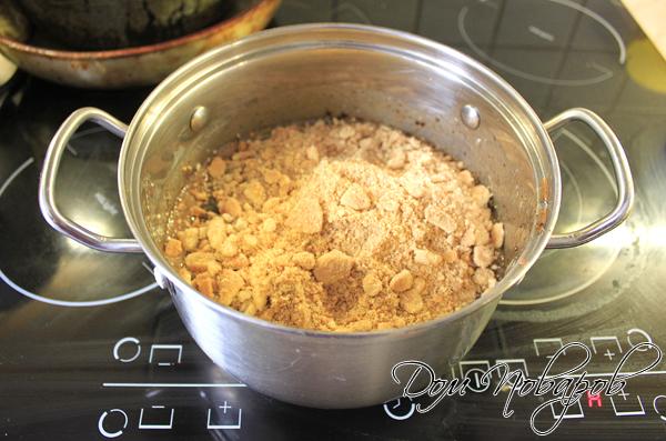 Добавить ломаное печенье