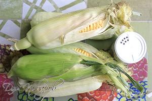 Выберите молодую кукурузу сладких сортов