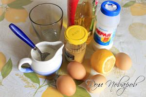 Для майонеза выбирайте свежие ингредиенты