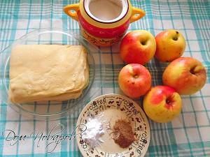 Ингредиенты для пирога очень просты