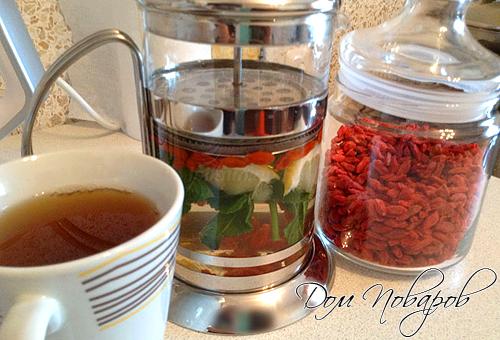 Рецепты чая с годжи