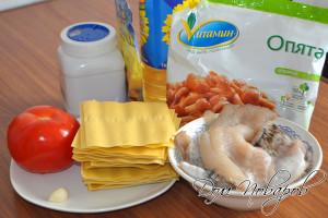 Подготовьте продукты, при необходимости разморозьте