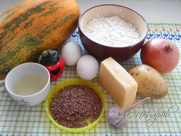 ингредиенты для котлет из кабачков